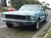 FORD MUSTANG 1968 MUSTANG REAL CALIFORNIA SPECIAL 302 4V J CODE