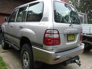2003 TOYOTA 2003 Toyota Landcruiser GXL Manual 4x4