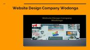 Top Website Design Company at Wodonga
